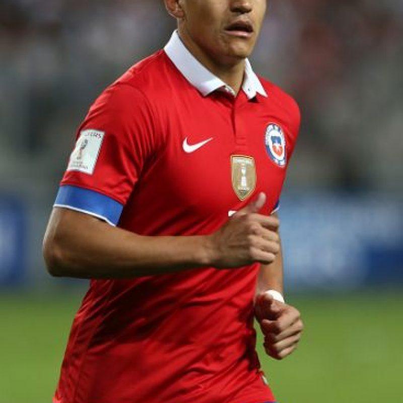 8. Alexis Sánchez (Chile) Foto:Getty Images
