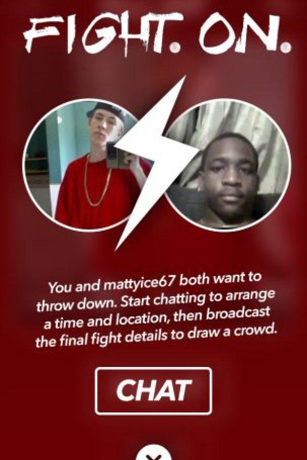"""Si esa persona también quiere pelear con ustedes, habrá un """"match"""" Foto:Getrumblr.com"""