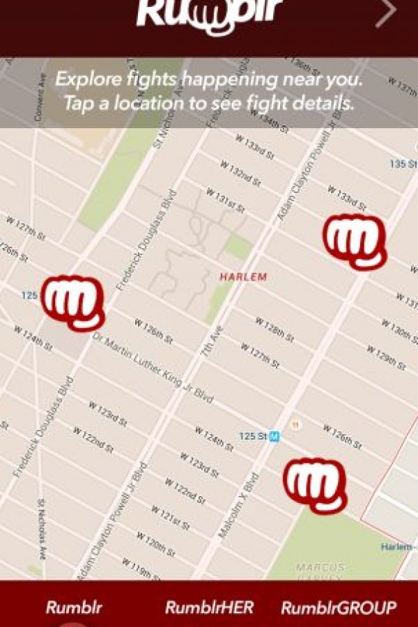 """Pueden hacer el """"evento"""" público para que sus demás contactos vayan a verlos pelear Foto:Getrumblr.com"""