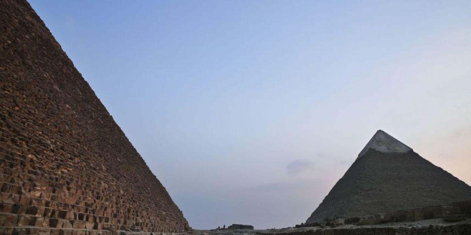Además de ser la mayor de las pirámides de Egipto. Foto:AP