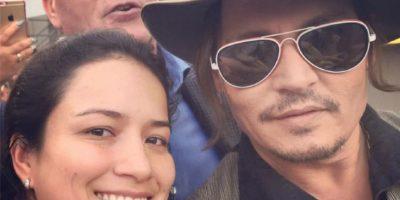 FOTOS. La guatemalteca Jackie Rubio sigue tomándose selfies con los famosos