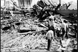 Huracán Galveston tuvo lugar en Texas, Estados Unidos, el 8 de septiembre del año 1900. Se calculan entre seis mil y 12 mil personas muertas Foto:Wikimedia Commons
