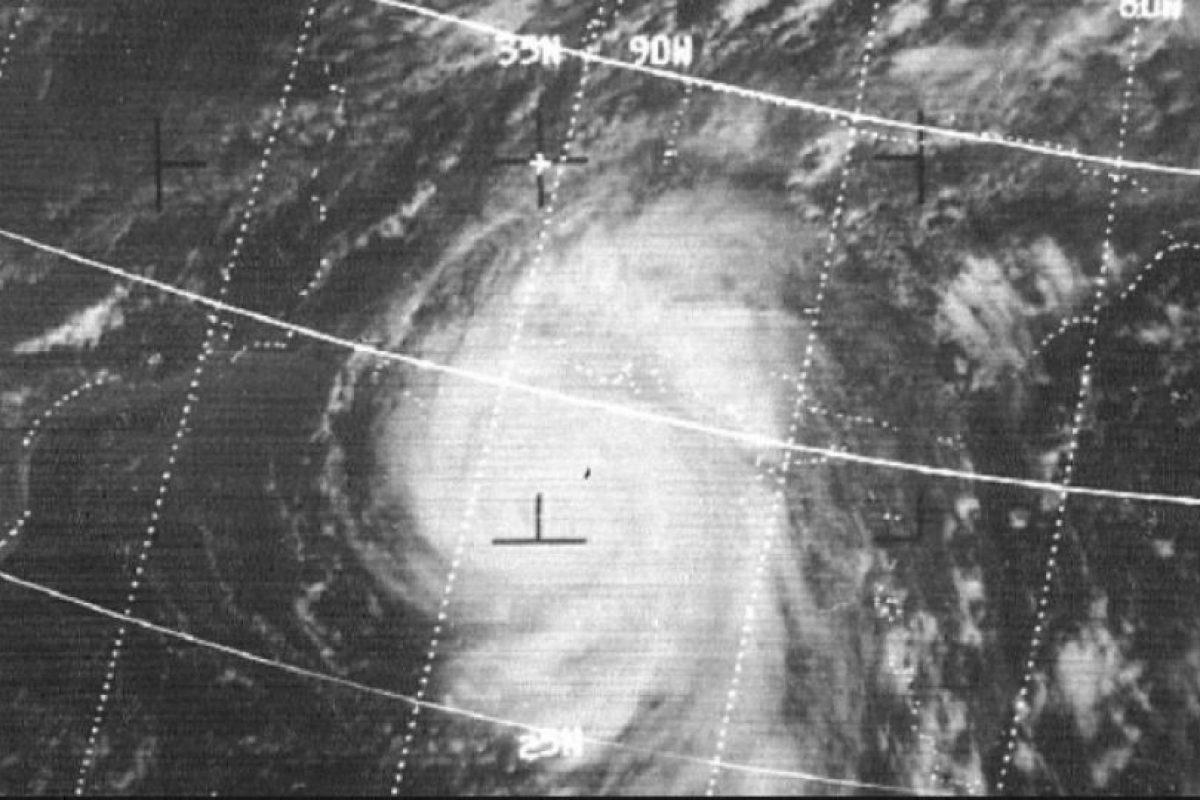 1969, Huracán Camille. Uno de los huracanes más intensos que han visto los Estados Unidos. En total tuvo 259 víctimas mortales y causó daños por mil 420 millones de dólares. Foto:Wikimedia Commons