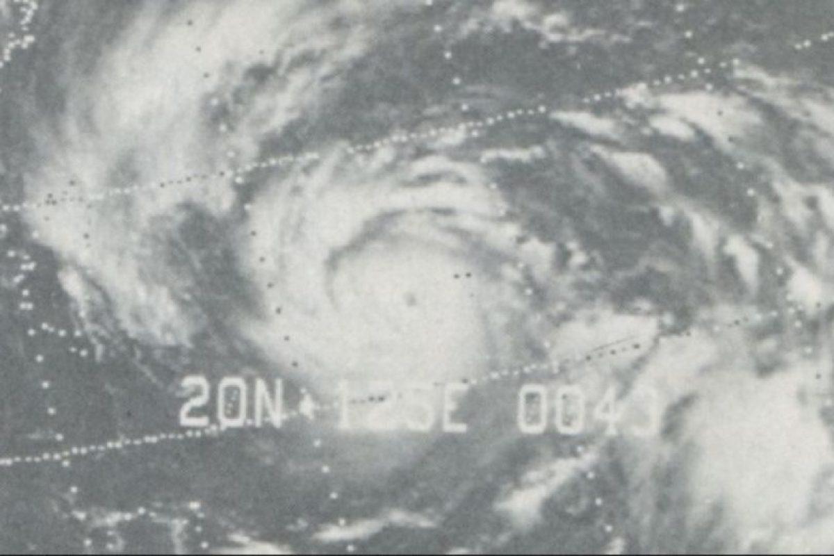 Tifón Nina de 1975. El tifón más devastador de la historia de China. Murieron 200 mil personas Foto:Wikimedia Commons