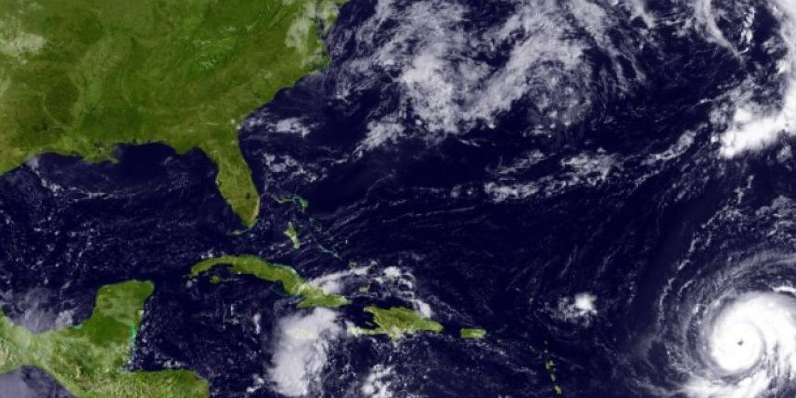 En septiembre de 2010, Igor fue considerado uno de los más grandes huracanes en cuanto a tamaño de su centro con mil 480 kilómetros de diámetro Foto:Getty Images