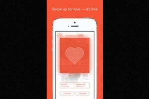 Se pueden registrar parejas y personas solteras Foto:AppStore – Archivo