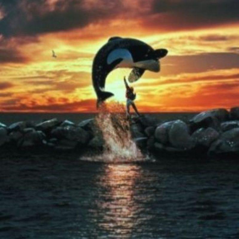 "7- ""Keiko"" saltando. Foto:IMDB"