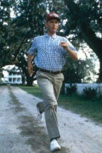 "8- ""Forrest Gump"" corriendo. Foto:IMDB"