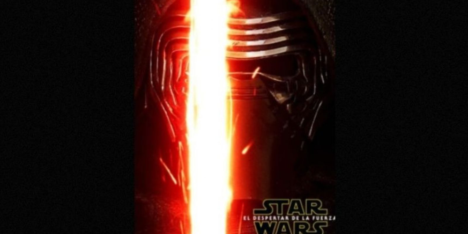 """Kylo Ren"", el villano de Adam Driver, en nuevo póster de ""Star Wars: The Force Awakens"". Foto: Facebook/StarWars.LATAM"