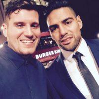 Entre los futbolistas presentes estuvo el colombiano Radamel Falcao. Foto:Vía twitter.com/TheCRonaldoFan