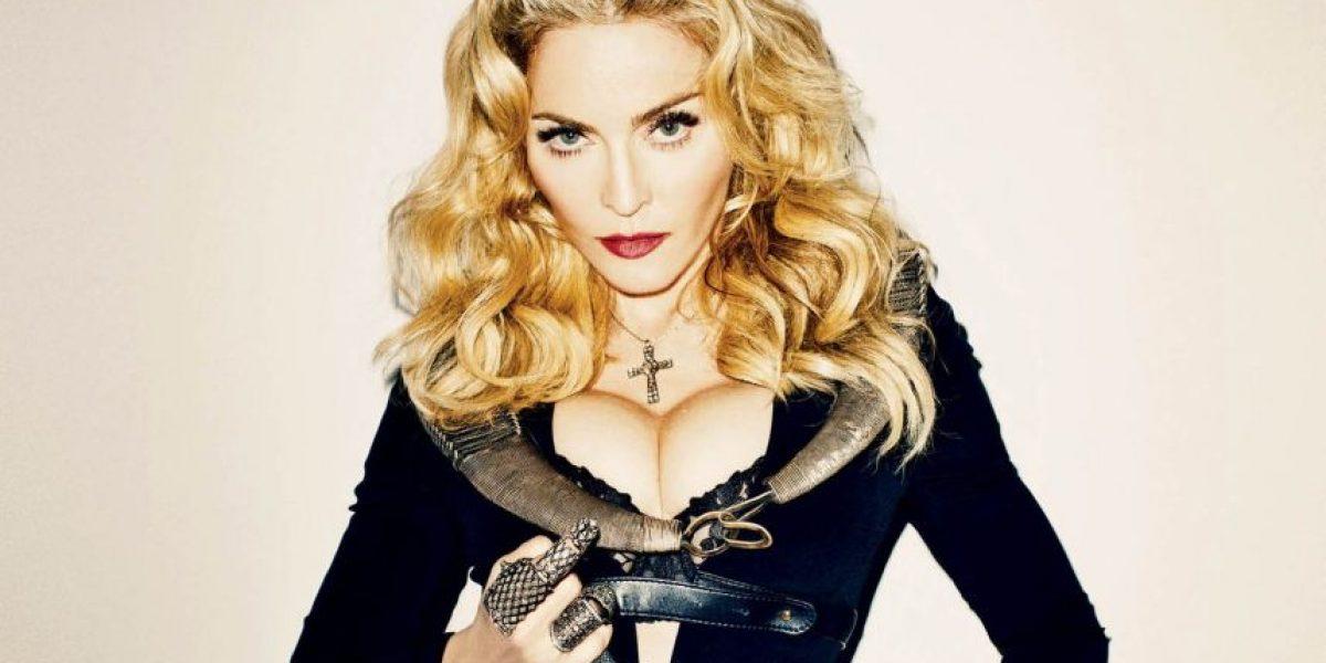 FOTOS. El día que a Madonna le quedó pequeña su ropa interior