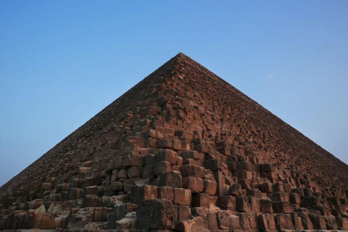 La Gran Pirámide de Guiza es la más antigua de las Siete maravillas del mundo. Foto:AP