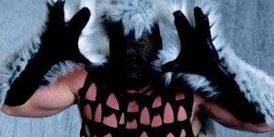 """11. Mystery Man / Está bien querer mantener oculta su identidad, pero no era necesario tanto """"diseño"""". Foto:WWE"""