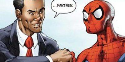 Al final los dos quedan como buenos amigos. Foto:vía Marvel Cómics