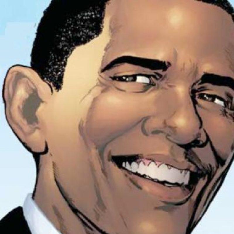 Esto, para su posesión presidencial. Foto:vía Marvel Cómics