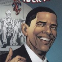 "Barack Obama salió en un cómic de ""Spiderman"". Foto: vía Marvel Cómics"