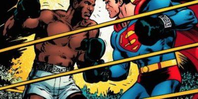 Muhammad Alí se enfrentó a Superman. Y le ganó. Foto:vía DC Cómics