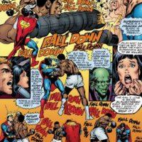 Curiosamente, para esa época, Alí ya no era campeón de nada. Foto:vía DC Cómics