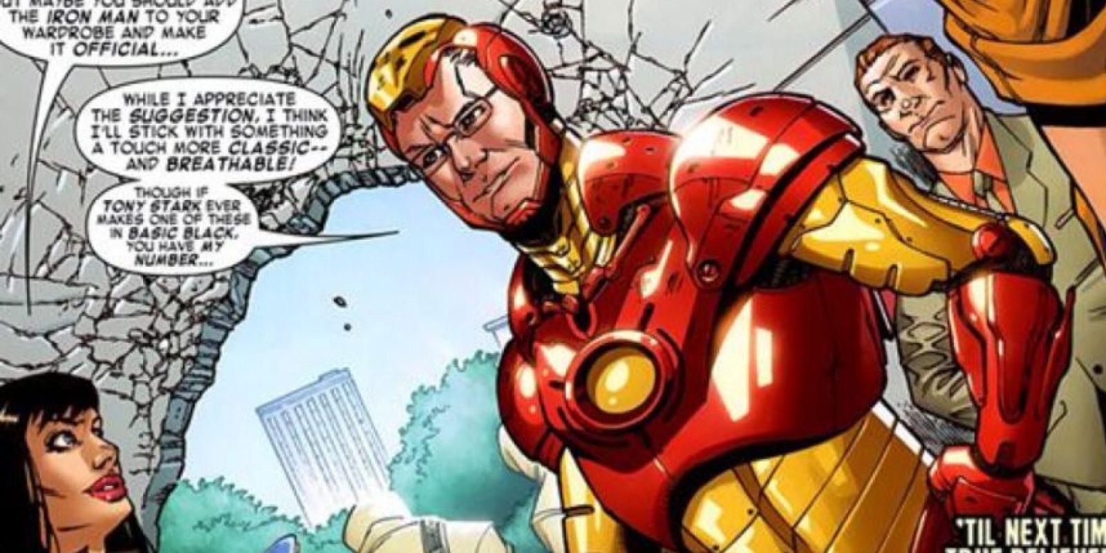 Por supuesto, Gunn es el héroe del día. Foto:vía Marvel Cómics