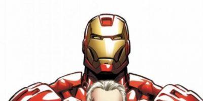"""Tim Gunn apareció en un cómic de """"Iron Man"""" en 2009. Foto:vía Marvel Cómics"""