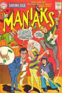 Woody Allen apareció también en una portada de DC cómics. Quién sabe haciendo qué. Foto:vía DC Cómics