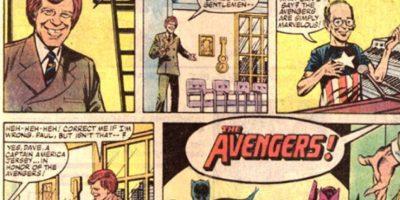 Concretamente, en 1984. Los invita a su programa. Foto:vía Marvel Cómics