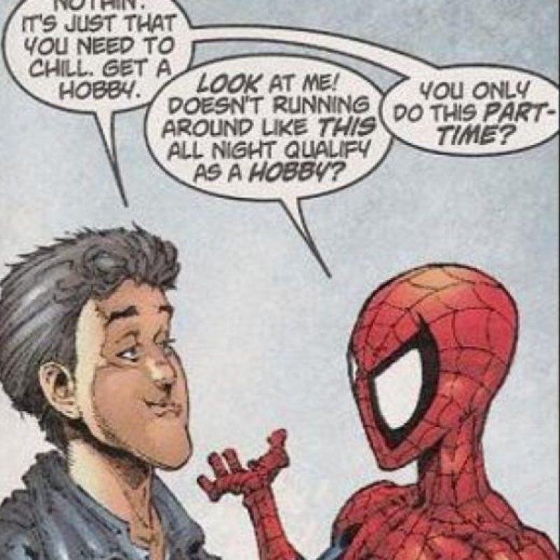 Lo peor son los chistes. Foto:vía Marvel Cómics