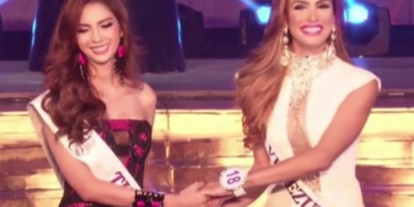 Esta venezolana transexual también ganó un concurso de belleza.