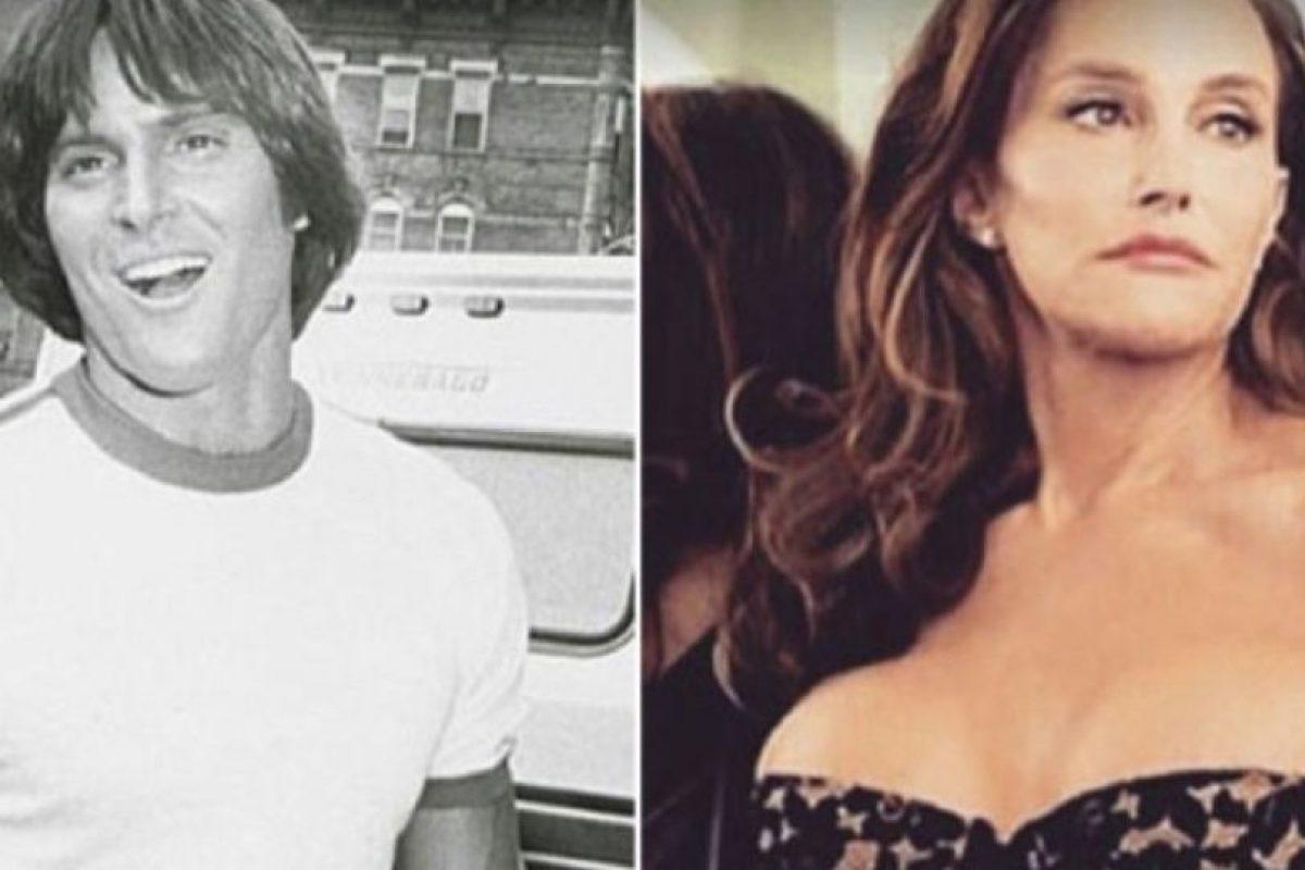 8. Bruce Jenner a Caitlyn Jenner Foto:Vía Twitter