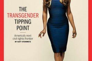 """Fue el primer transexual en ser portada de """"Time"""". Foto:Vía Twitter"""
