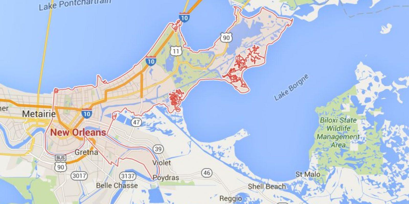 El hombre vivía en Nueva Orleans. Foto:Vía Google Maps