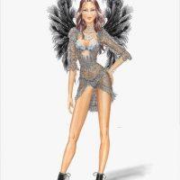 En días anteriores, la empresa dio a conocer tres de los nuevos modelos que se presentarán este año. Foto:Victoria's Secret