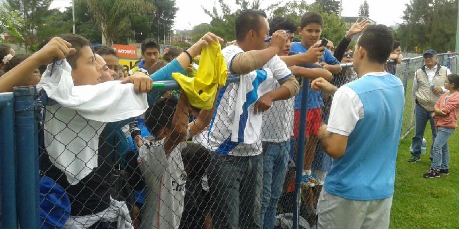 Foto:Marco Pappa se unió este martes a los entrenos de la Selección Nacional.