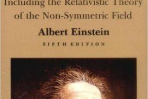 """""""El significado de la Relatividad"""" de Albert Einstein Foto:Amazon.com"""