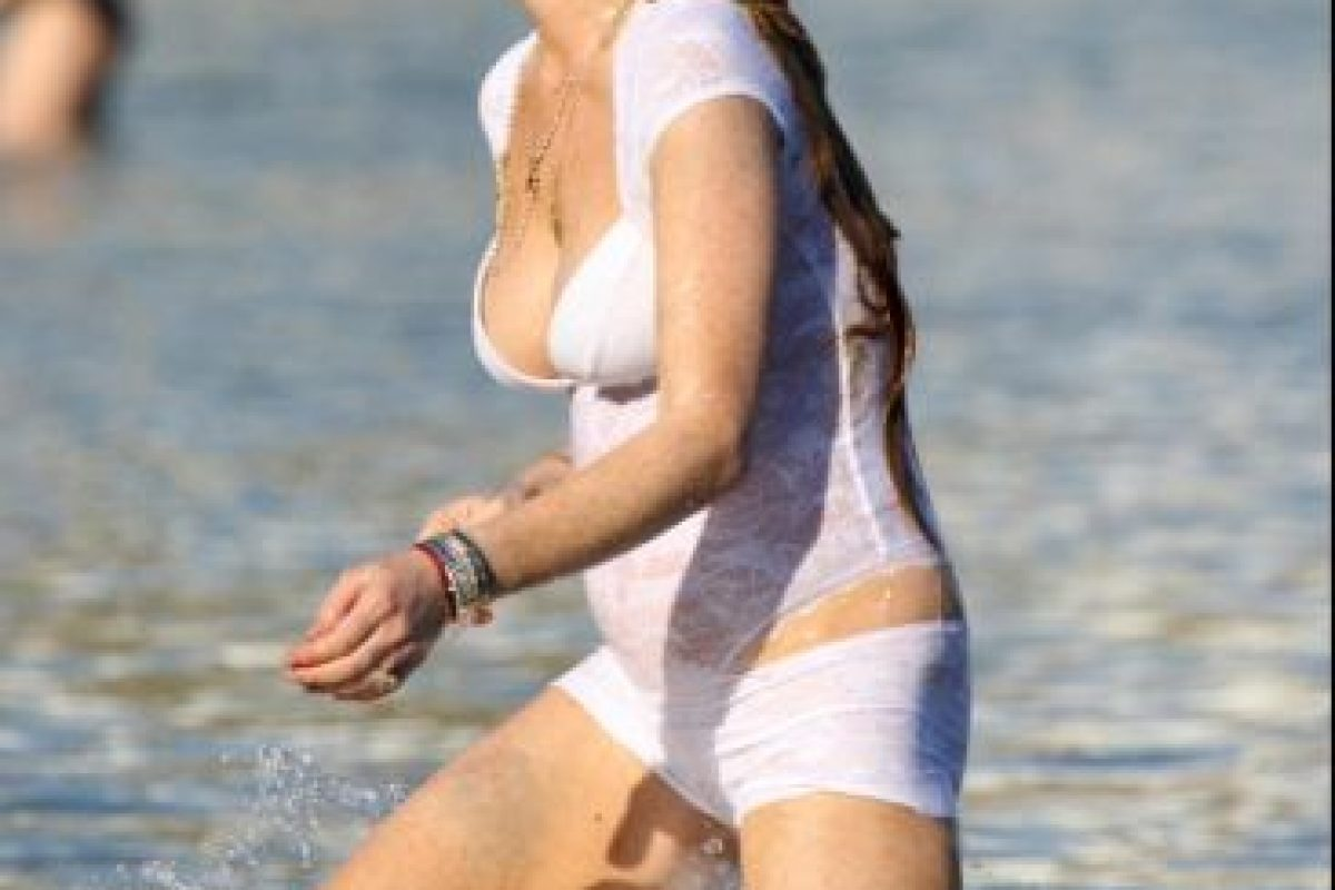 Lindsay Lohan en la vida real Foto: The Grosby Group