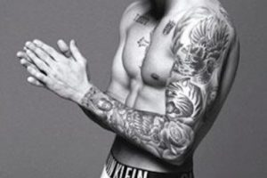 """Justin Bieber para la campaña de """"Calvin Klein"""" Foto:Calvin Klein"""