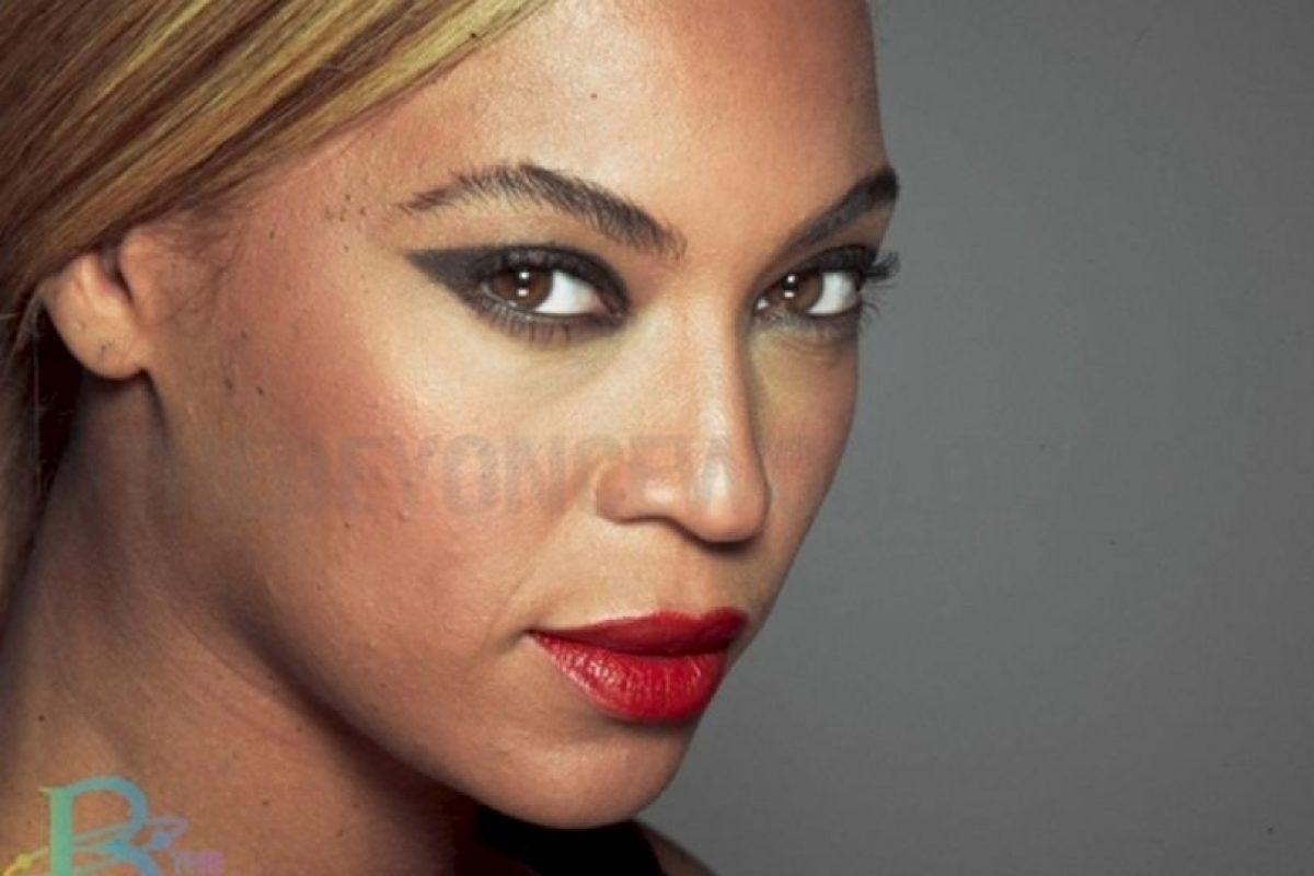 Beyoncé con su cutis real. Foto: thebeyonceworld.com