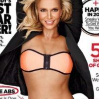 """El rostro de Britney Spears para la revista """"Woman's Health"""" . Foto:vía instagran.com/britneyspears"""