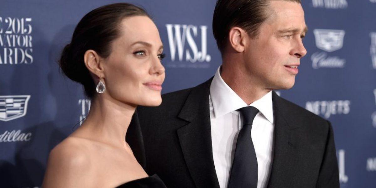 Esto es lo que hacen Angelina Jolie y Brad Pitt en su