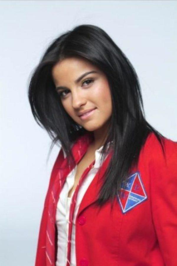 "La actriz saltó a la fama por interpretar a ""Lupita"" en la telenovela ""Rebelde"". Foto:Televisa"