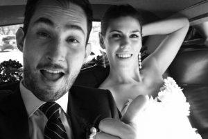 La pareja contrajo matrimonio recientemente. Foto:instagram.com/kevin