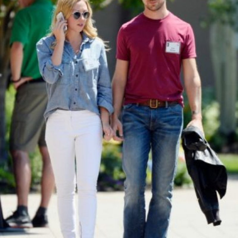 4- Jack Dorsey (Twitter) y Kate Greer. Foto: Getty Images