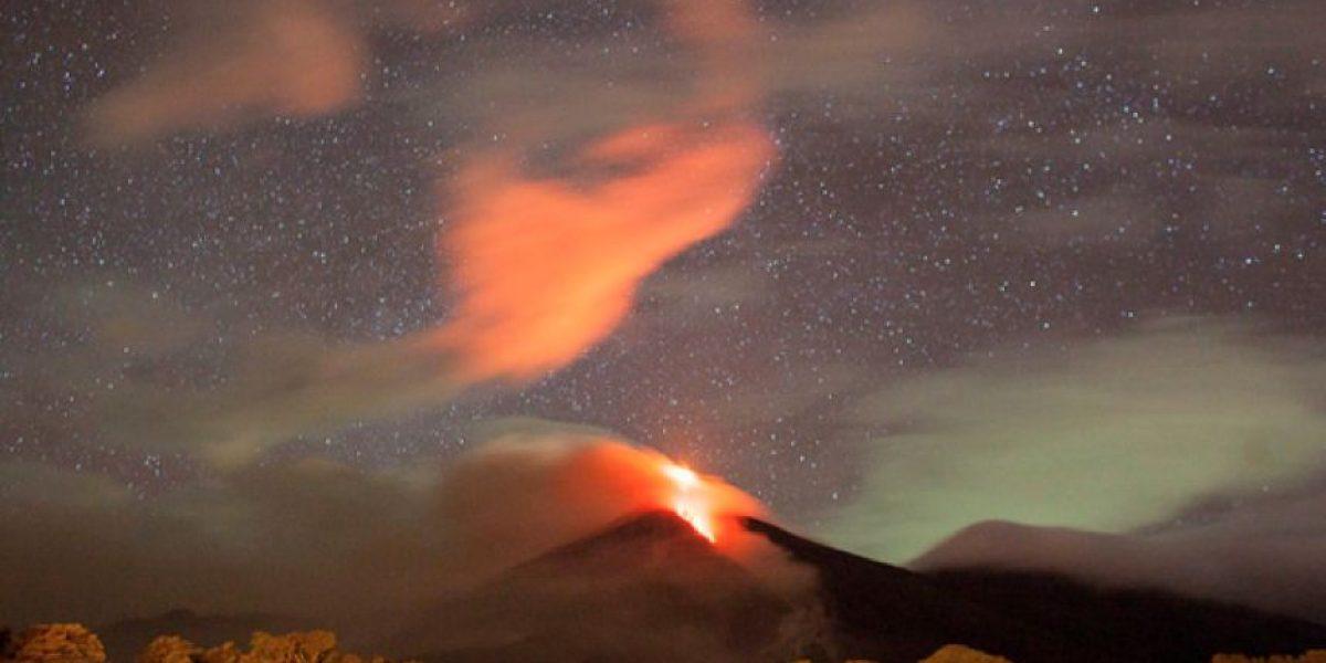 Imágenes increíbles de la erupción del volcán de Fuego