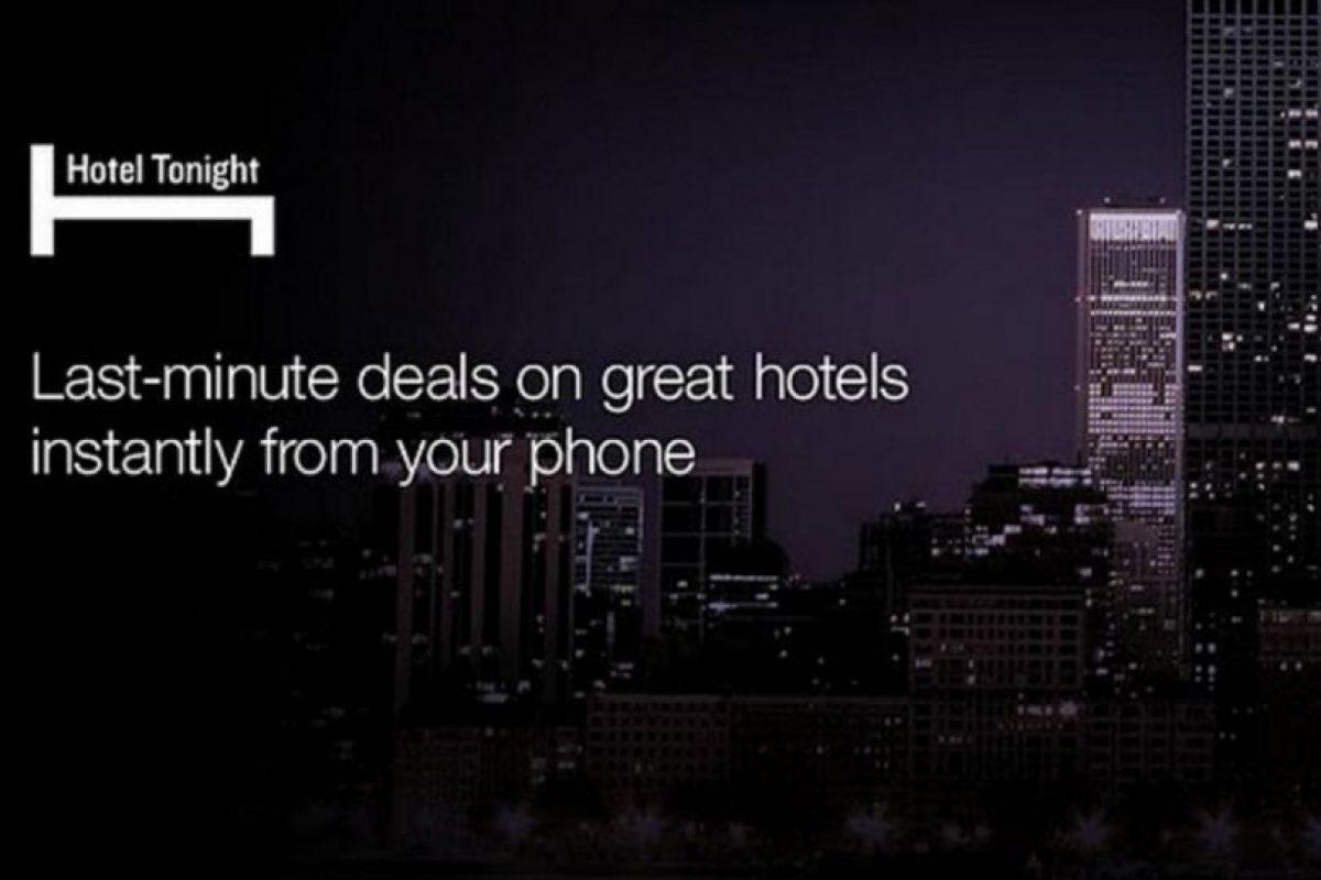 La app está disponible para iOS, Android y Windows Phone. Foto:Hotel Tonight