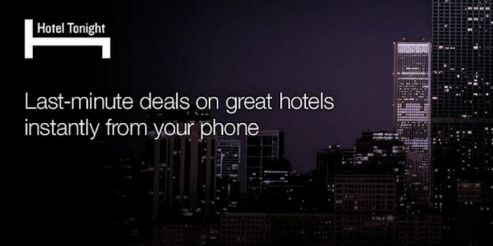 La app está disponible para iOS, Android y Windows Phone. Foto: Hotel Tonight