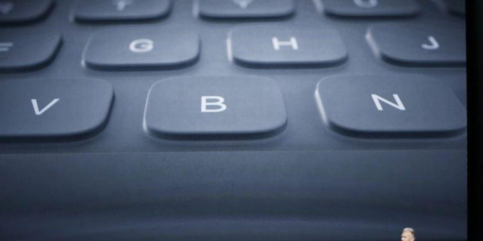 También hay un teclado inteligente. Foto:Getty Images