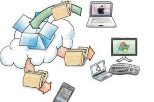 Dropbox es la opción más conocida de almacenamiento en al nube, pero no es la única. Foto:Dropbox