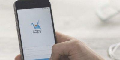Copy les sorprenderá por su facilidad y interfaz muy sencilla. Foto:vía copy.com