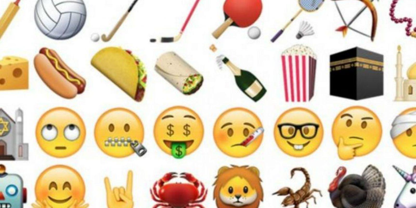 Ahora ya podrán tener los nuevos emojis en su smartphone. Foto:Apple