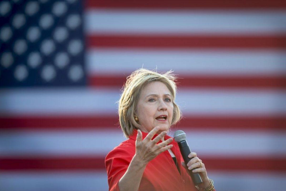 Desde que anunció su campaña el 12 de abril de este año la Clinton se volvió foco de atención. Foto:Getty Images